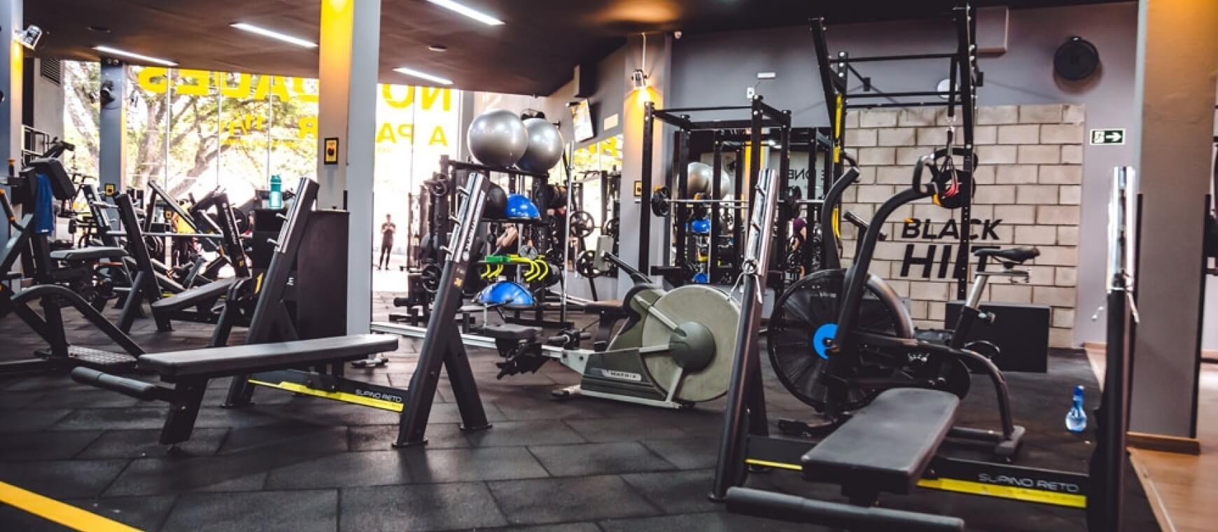Areá de Musculação